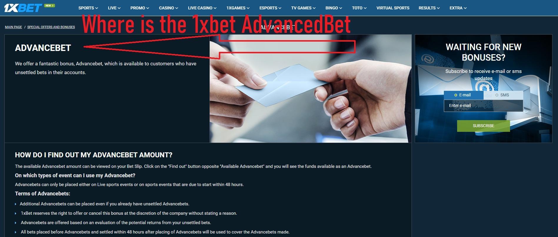 Where is the AdvancedBet